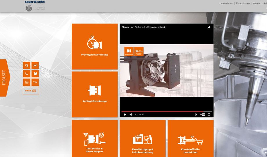 Neue Website FORMENTECHNIK