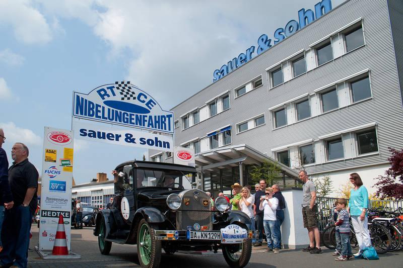 Nibelungenfahrt 2014